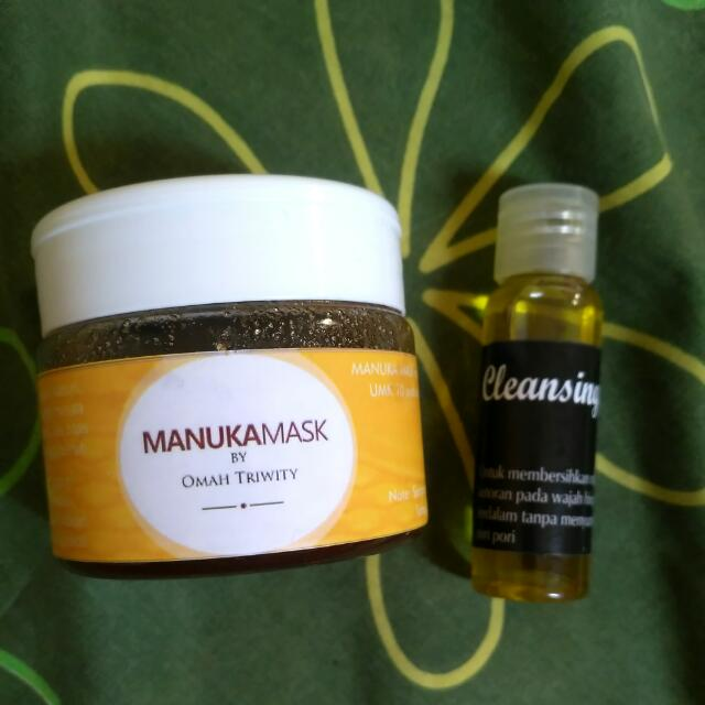 Manuka Mask By Skincard_omahtriwy