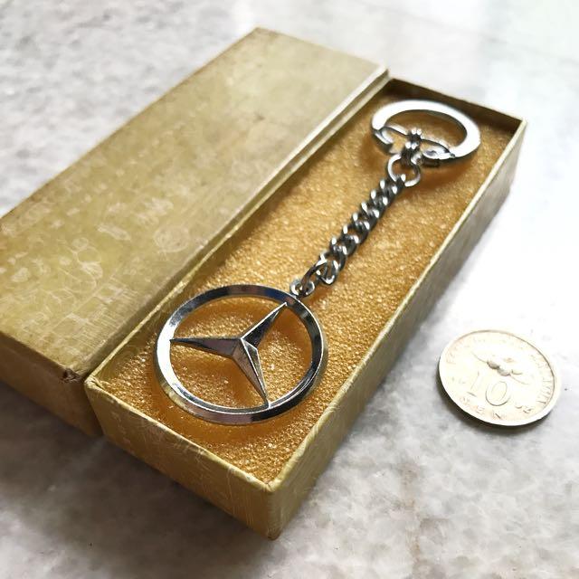 Mercedes Keychain - Rare