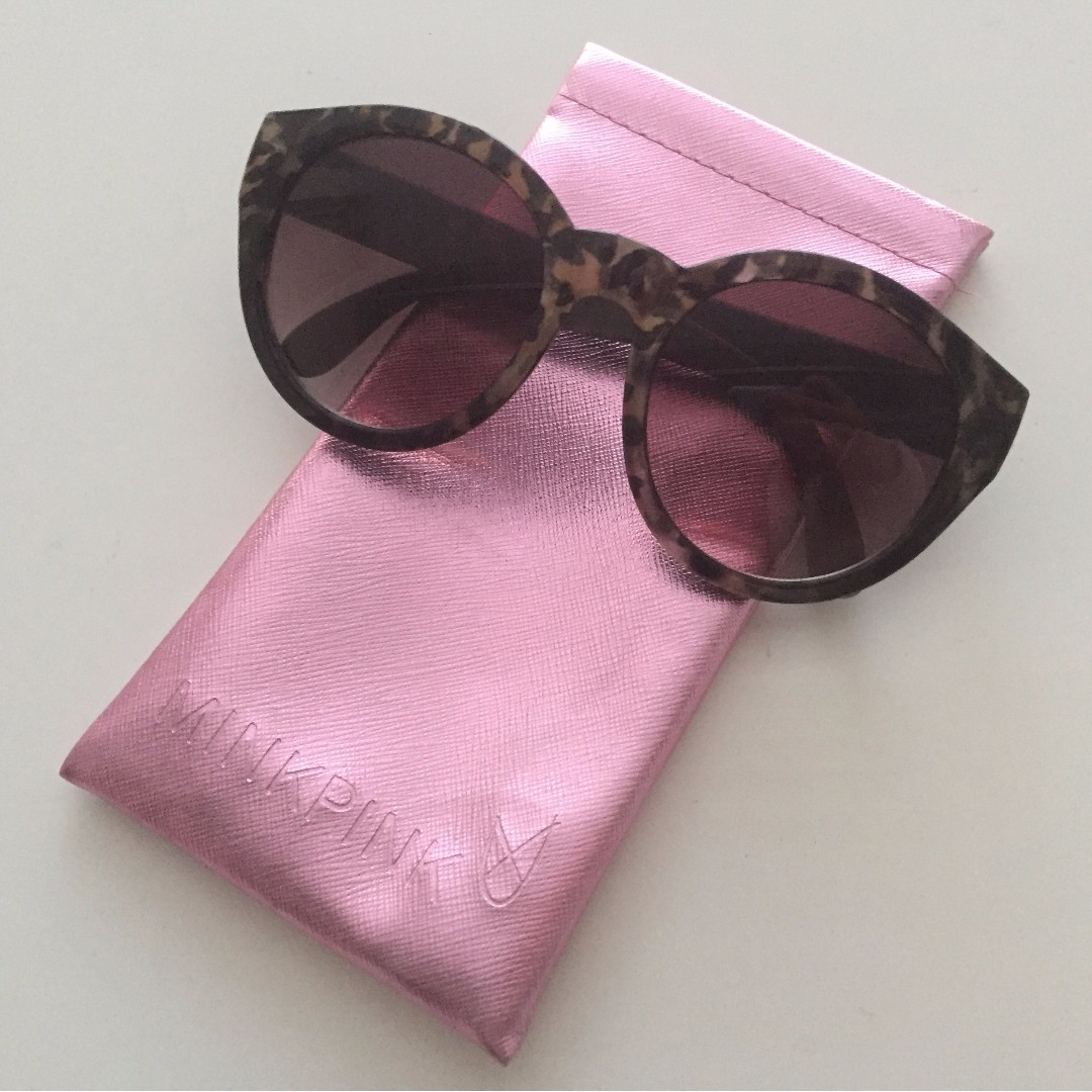 MINKPINK Sunglasses with case
