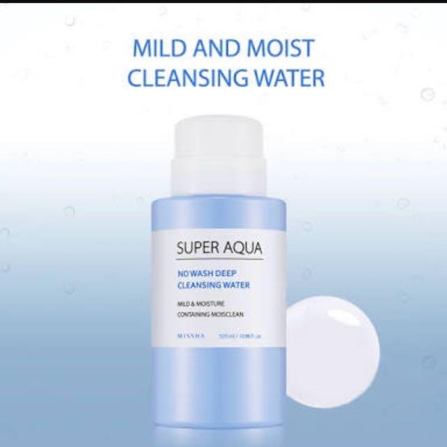 Missha Deep Cleansing Water