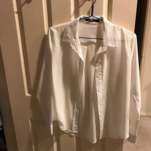 Mossman White Shirt Silk Type