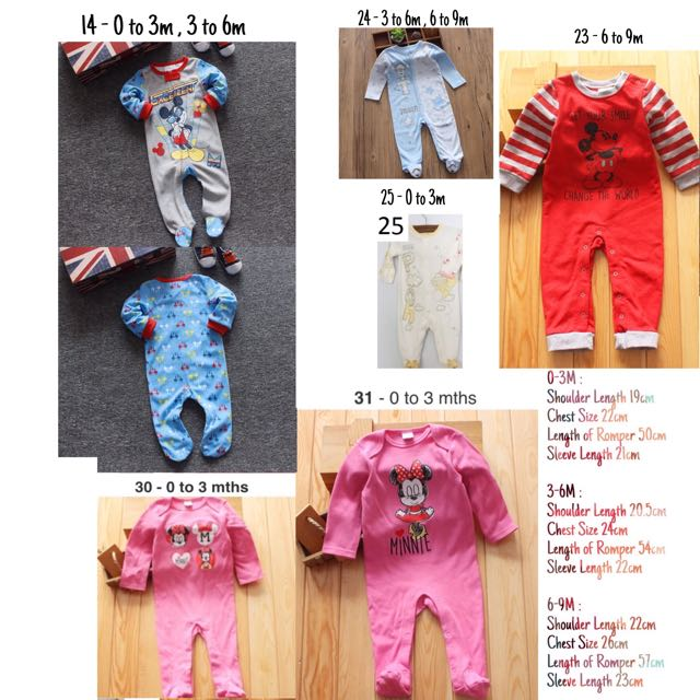 411ce4e1d ️New Arrival 👶🏼👶🏻👶‼ Minnie Mouse / Mickey Mouse / Winnie the ...
