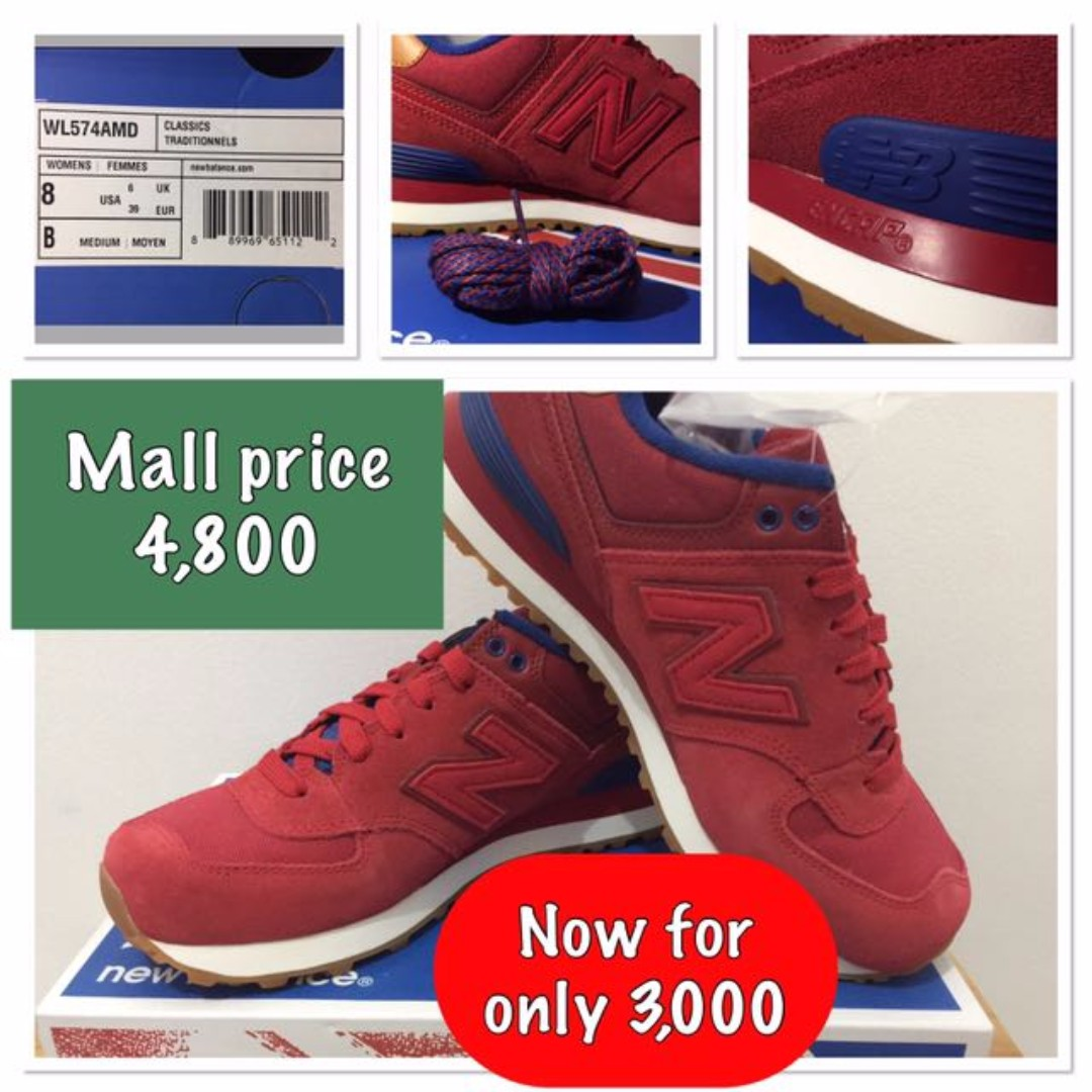 New Balance Shoes Red