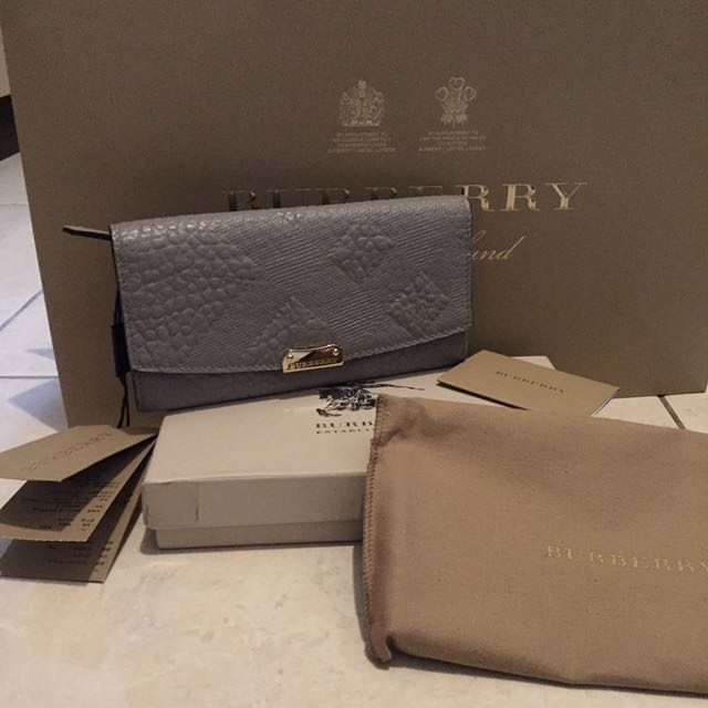 New Complete Set Burberry Wallet