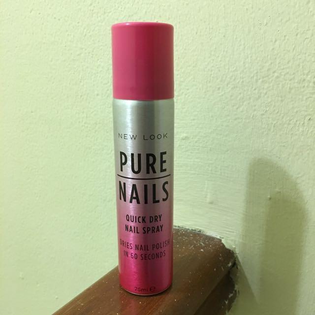 New Look Pure Nail Quick Dry Nail's Spray