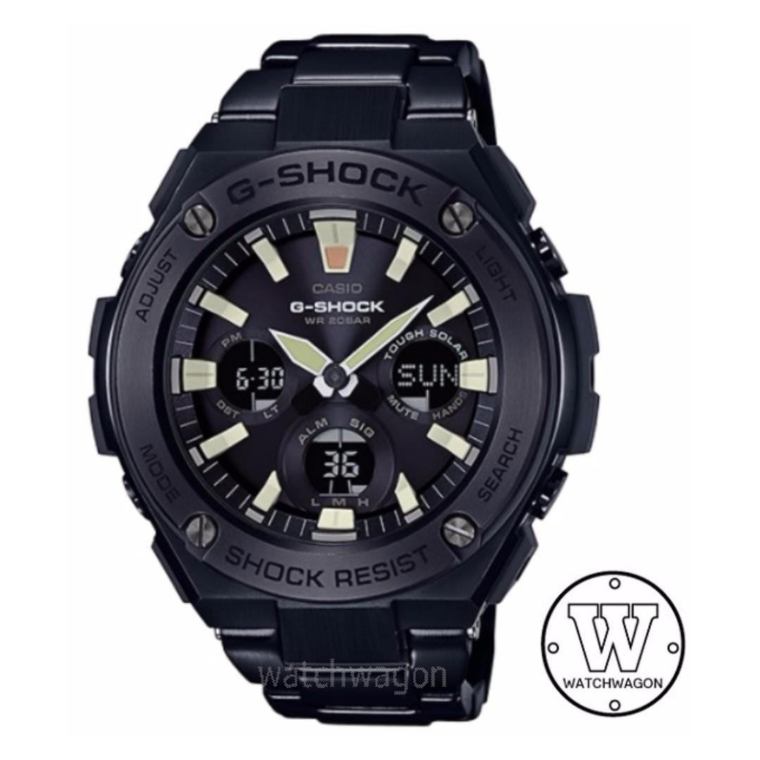 76c79c166c575 NEW STOCK ! 100% AUTHENTIC Casio G-Shock G-STEEL GST-S130BD-1A ...