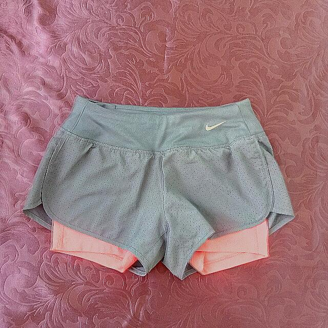 REPRICED!!! Nike Perforated Rival Running Shorts