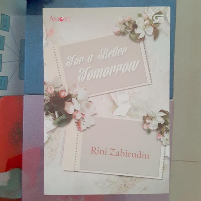 Novel For A Better Tomorrow