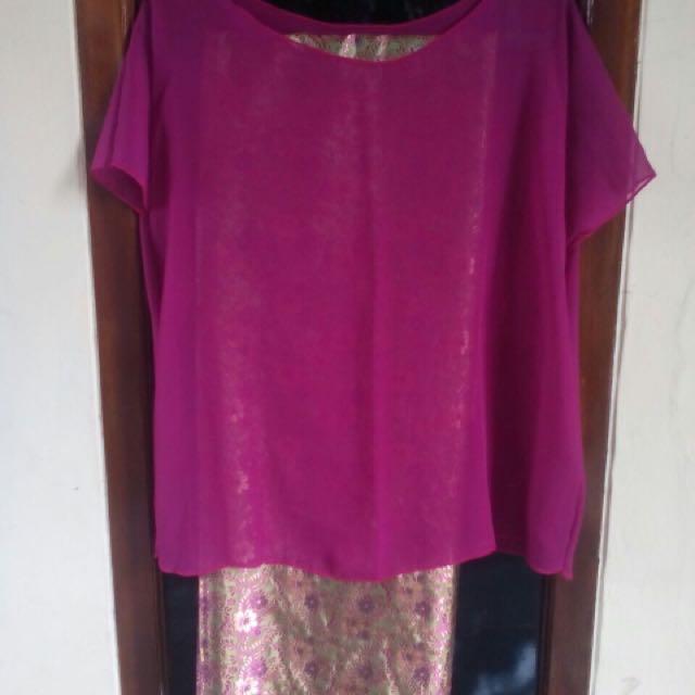 one set top + kain lilit