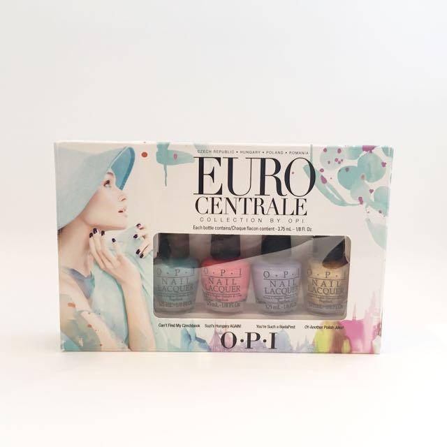 O.P.I #EuroCentrale Nail Polish Minis