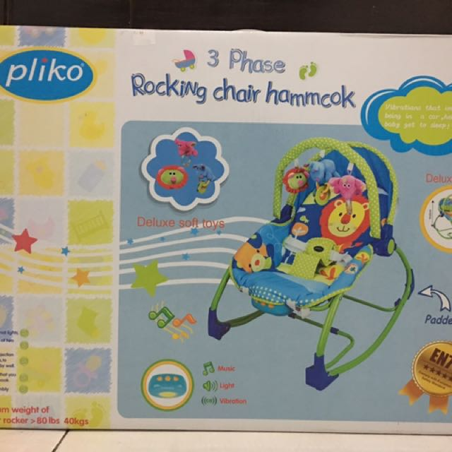 Pliko Rocking Chair Hammcok