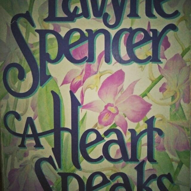 Pre Loved ROMANTIC NOVELS ♥ In Paperback!!! Titled : Heart Speaks