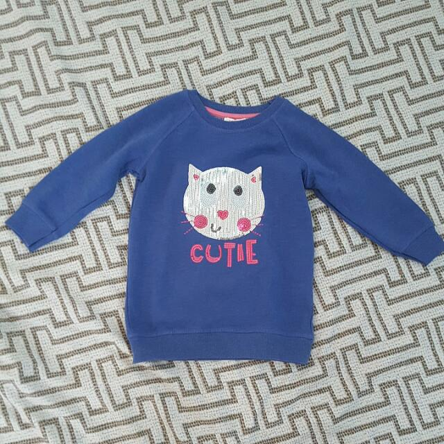 *PRELOVED* Bluezoo Cat Sweater - Like NEW!