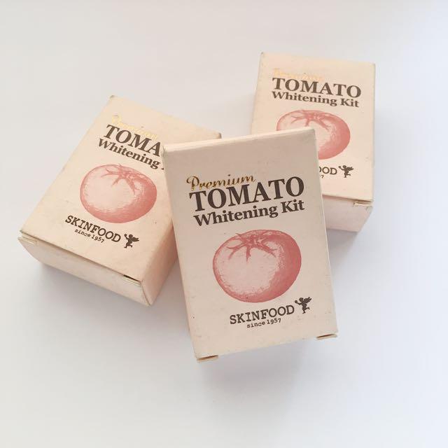 Premium Tomato Whitening Kit from Skinfood