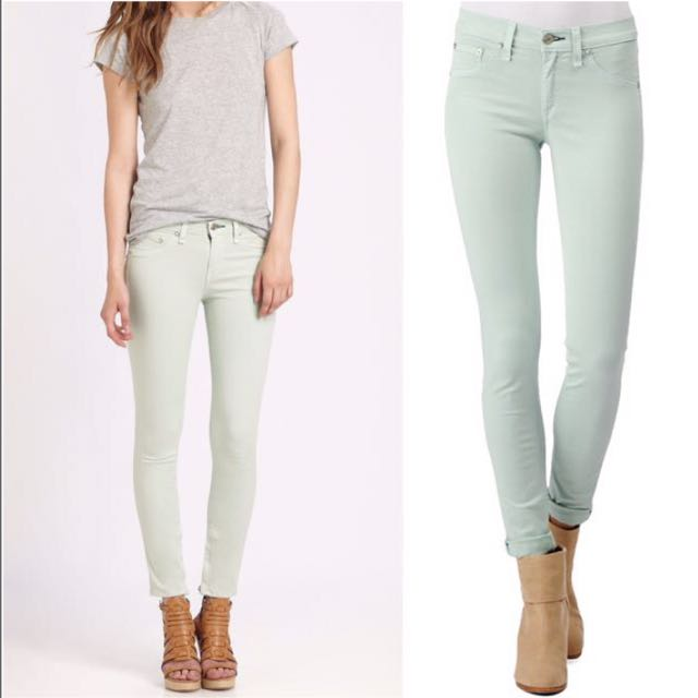 ⭐️ Rag & Bone / Aritzia $230 Icy Mint Leggings