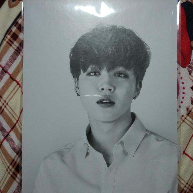[RARE] JIMIN BUTTERFLY DREAM EXHIBITION POSTCARD