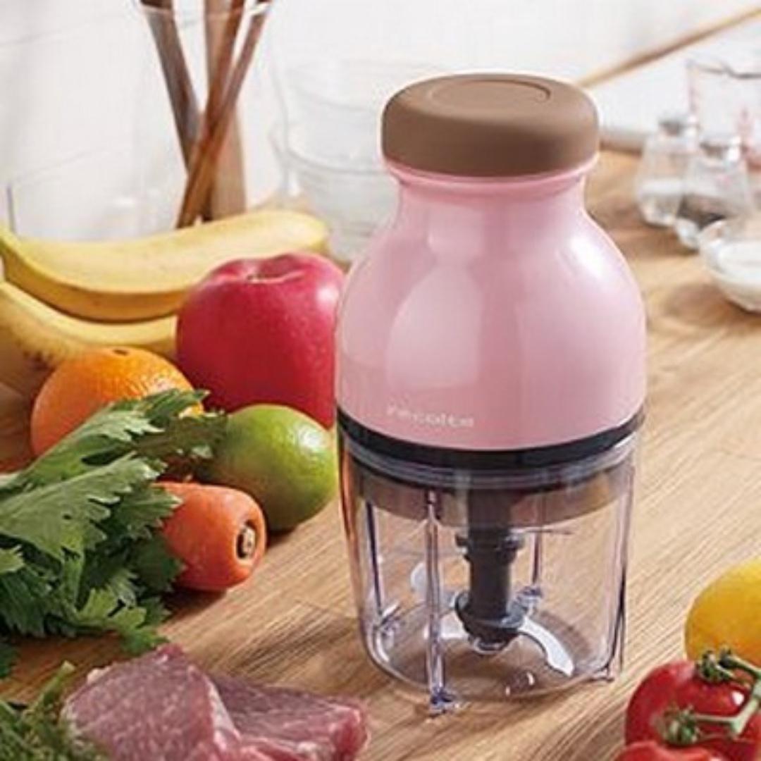 Recolte 日本麗克特Quatre 時尚小型調理機/果汁機 櫻花粉 #我要賣果汁機