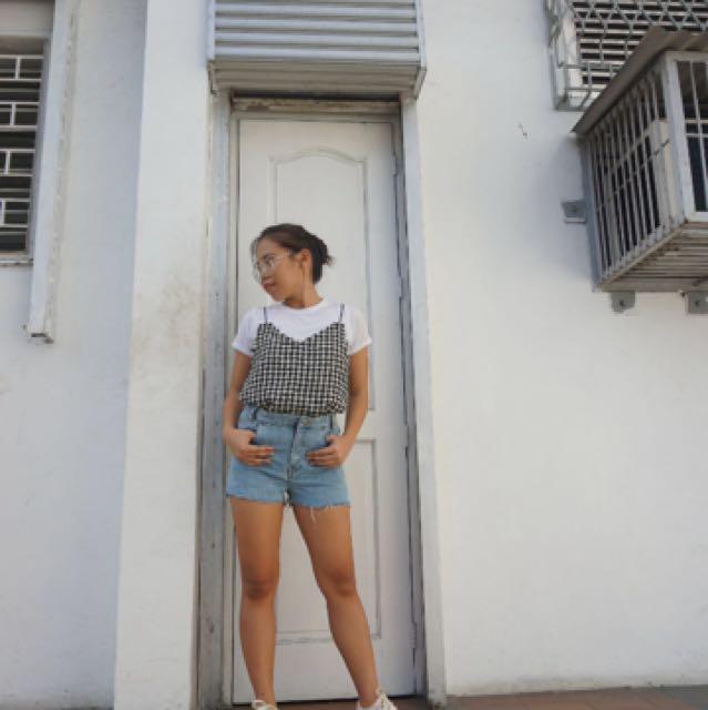 Rugged Denim Shorts