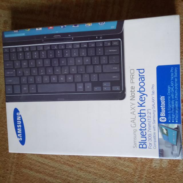 Samsung GALAXY note PRO WIRELESS keyboard