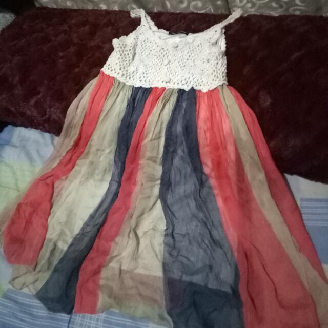 Sassy Rainbow Dress