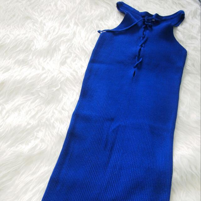 Sexy Dress Bodycon (blue)