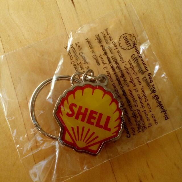 Shell Keychain Original