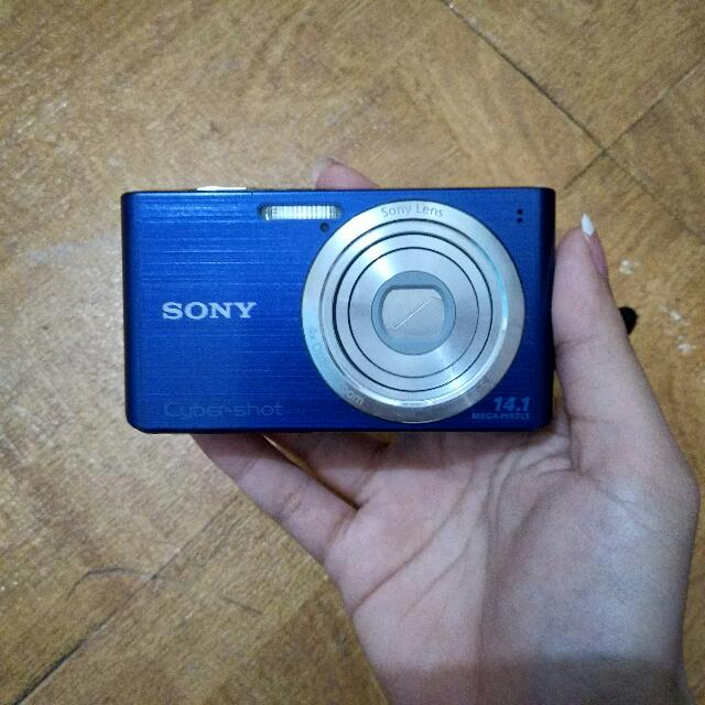 Sony Cyber-shot Digicam (Color Blue)