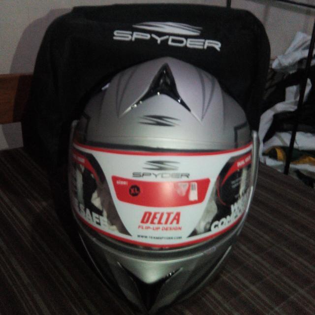 Spyder Dual Visor Helmet