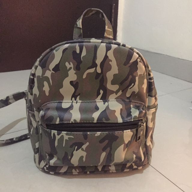 Stradivarius Camo Mini Bag
