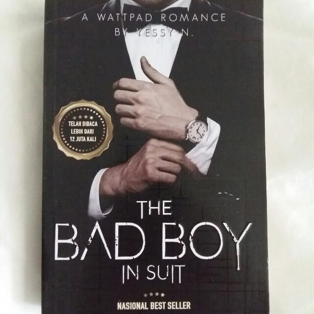 THE BAD BOY IN SUIT Novel