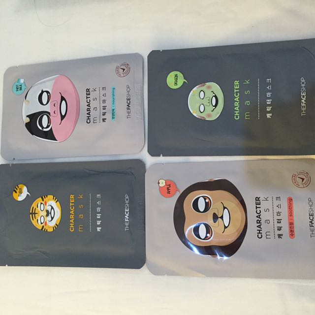 The Face Shop Character Face Mask
