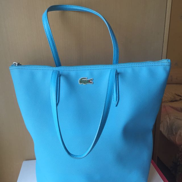 Tote Bag Lacoste Blue