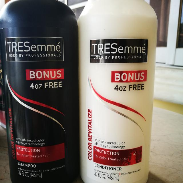 Tresemme Color Revitalize Shampoo and Conditioner 946 ml each