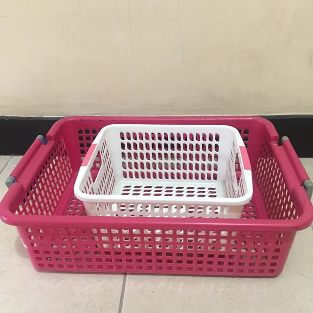 Two Multipurpose Baskets