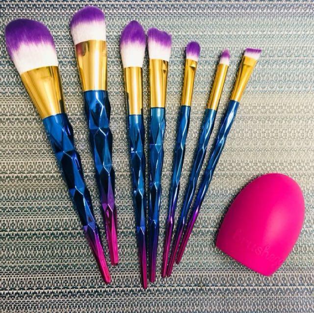 Unicorn Brush Set!!