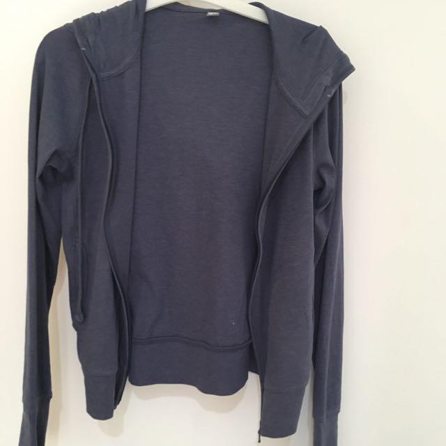 Uniqlo UV Jacket Blue