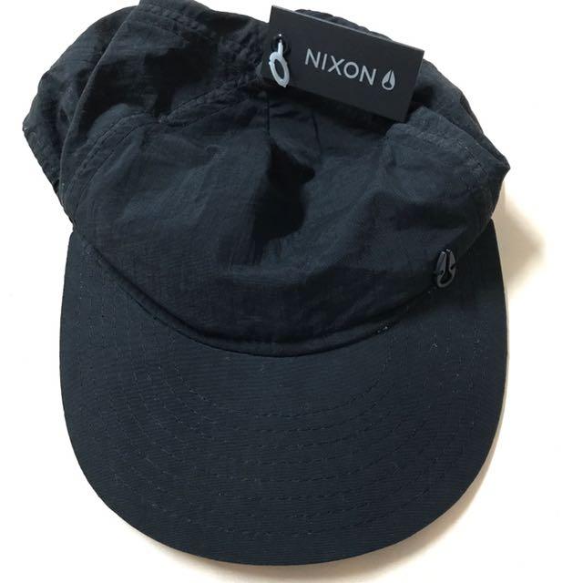 Unused Black Nixon Cap