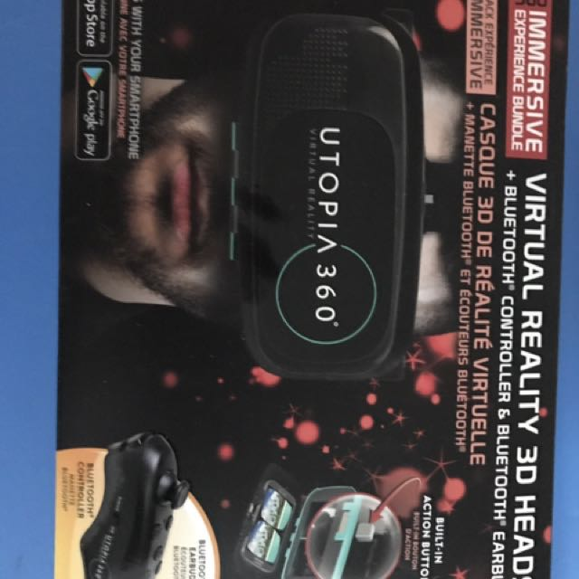 Utopia 360 VR Head seat