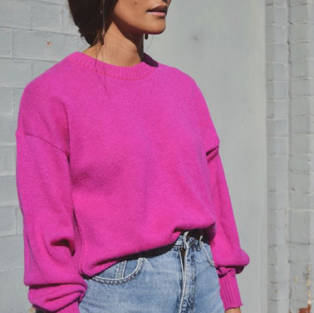 Vintage 100% Lambswool Mengenta Sweater