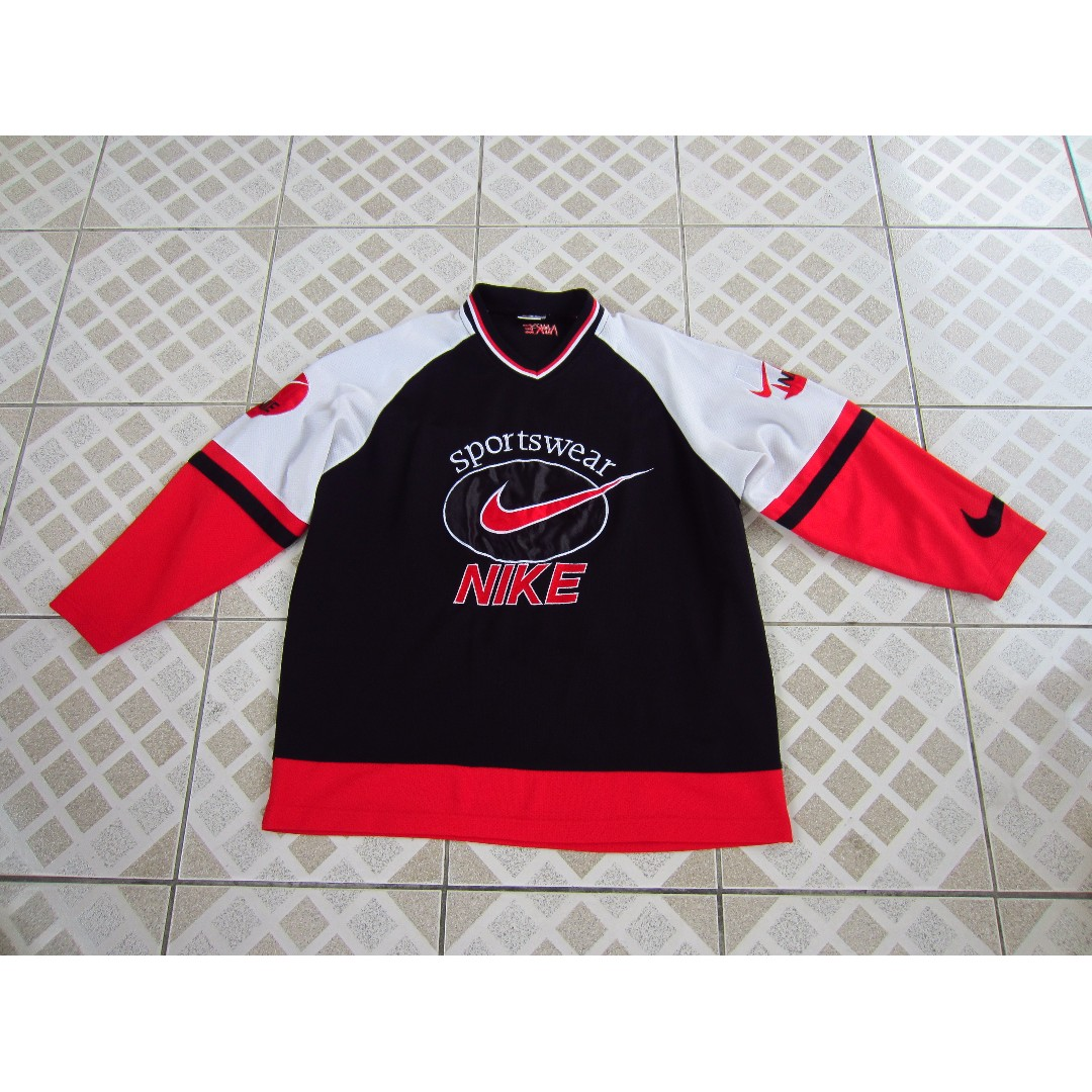 Nike Embroidered Vintage Hockey Jersey