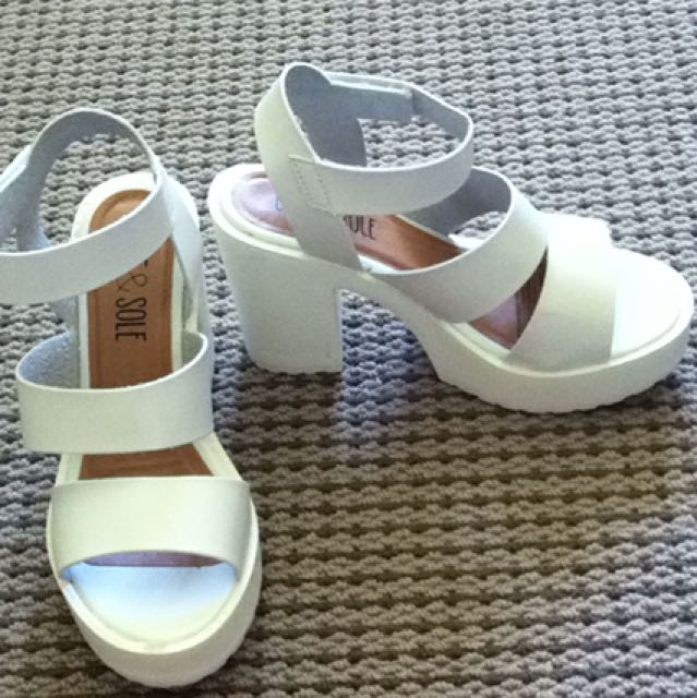 White Dress Heels