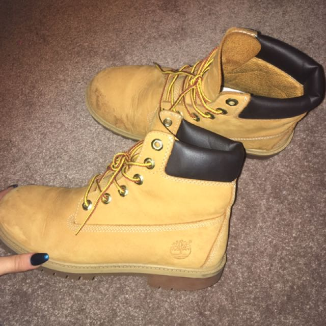 Women's Timberlands Fits 7/8