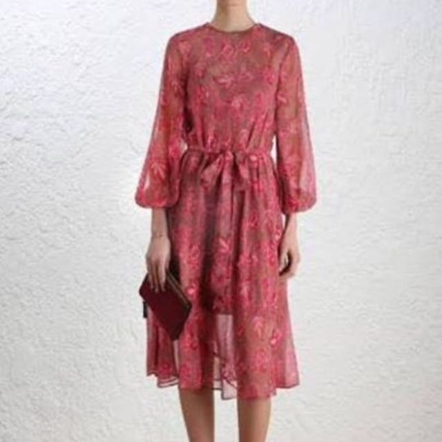 WTB Zimmermann Karmic sheath Dress Size 0