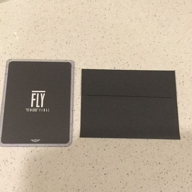 [WTS] GOT7 Jackson Fly in Seoul Final Concert Photocard