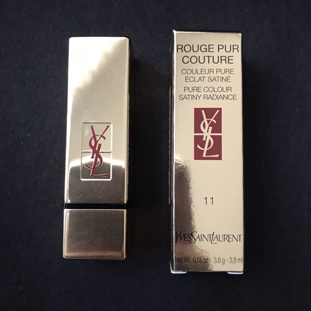 YSL Rouge Pur Couture Lipstick In 11 Rose Carnation