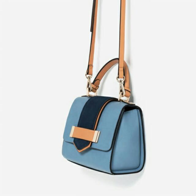 Zara Contrast City Bag SALE