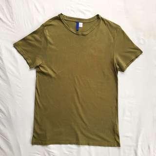 H&M Olive Green Shirt