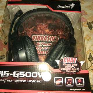 Genius HS-G500V Gaming Headset