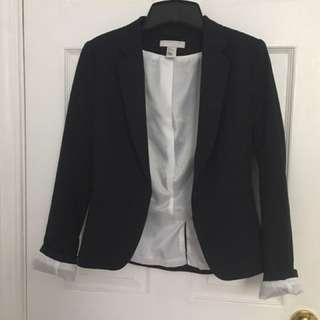 H & M Navy blazer