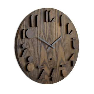 SHADOW WALL CLOCK 掛牆鐘 (仿Age Walnut 款色)